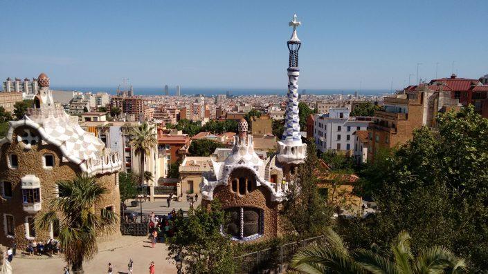 nos no mundo site viagem parqueguell barcelona